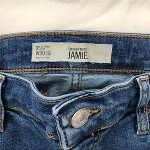 TOPSHOP Jamie Moto Skinny jeans